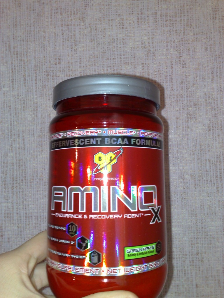 BCAA BSN amino X green apple